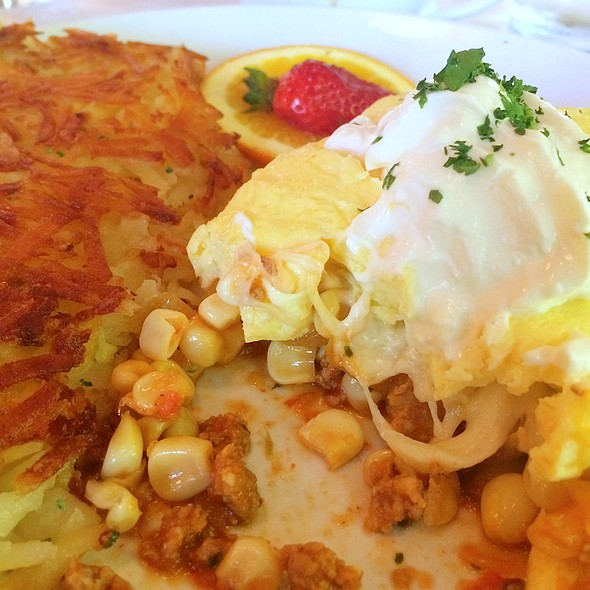 Fennel Omelette - Brix Tavern
