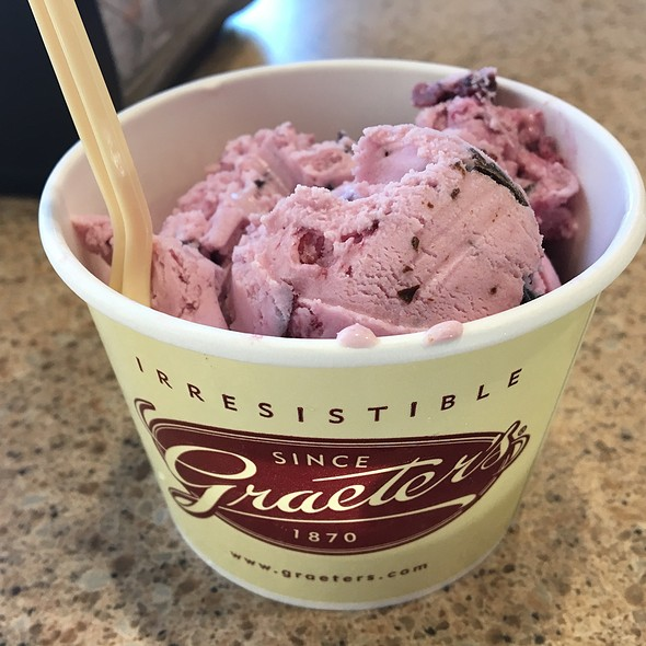 Black Cherry Chocolate Chip Ice Cream