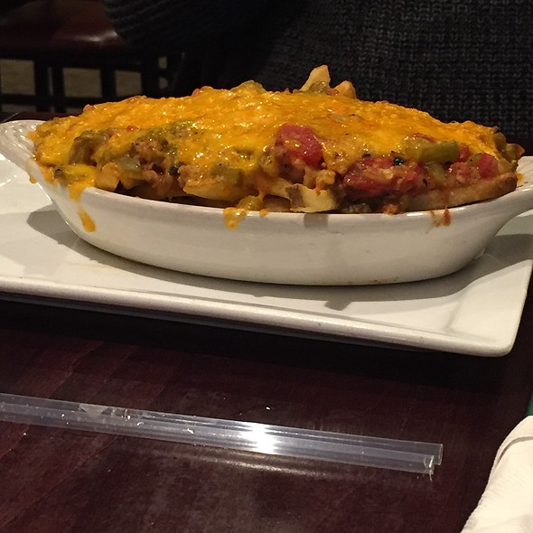 Green Cheese Chili Fries @ Poppy's Pizza & Grill