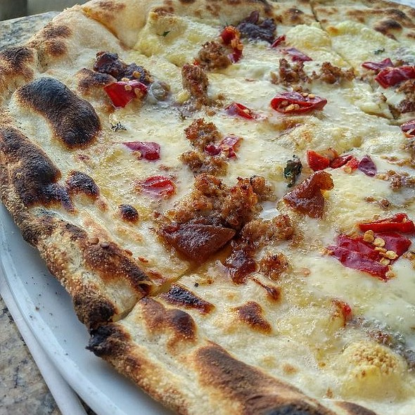 CarmolizedOnion,Sausage&HPepp - Varasano's Pizzeria, Atlanta, GA