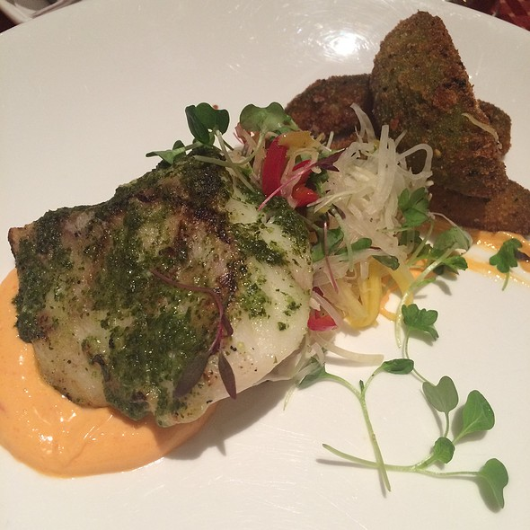 Grouper With Harissa Aioli
