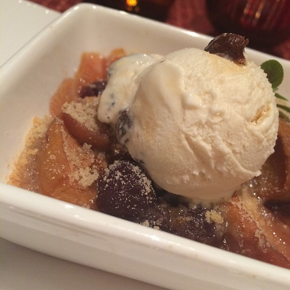 Stone Fruit Cobbler