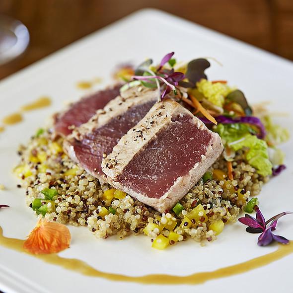 Seared Tuna Oolong marinated ahi tuna - Cobalt Restaurant and Lounge - Vero Beach Hotel and Spa, Vero Beach, FL