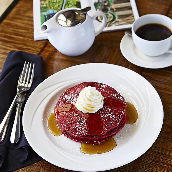 Red Velvet Pancakes - Cobalt Restaurant and Lounge - Vero Beach Hotel and Spa, Vero Beach, FL