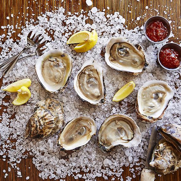 Oysters @ Cobalt Restaurant