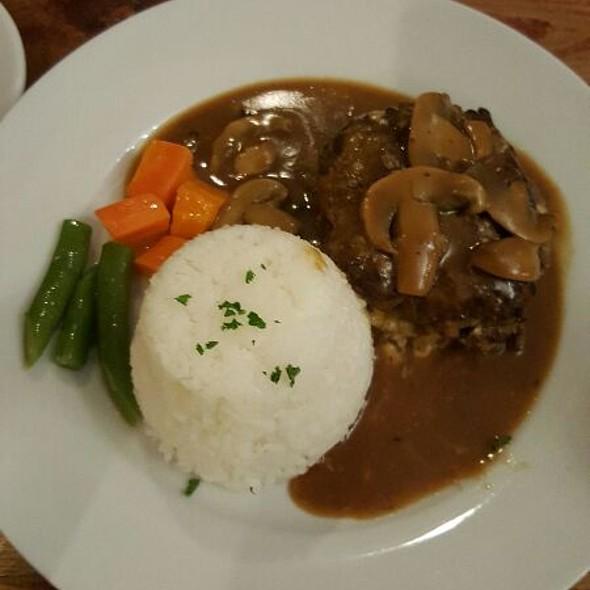 Hamburger Steak @ Mama Lou's Italian Kitchen