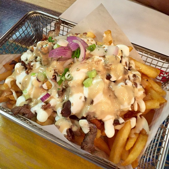 Beef Bulgogi Fries @ Chicken Up