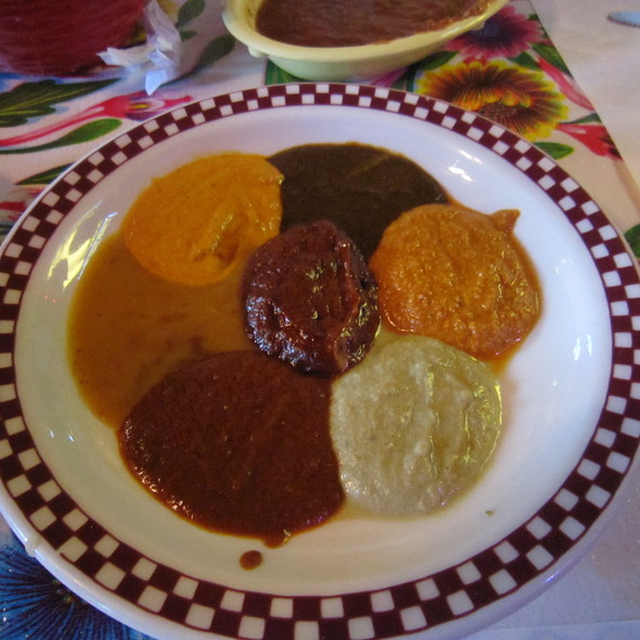 Mole Sauce Sampler @ Red Iguana Restaurant