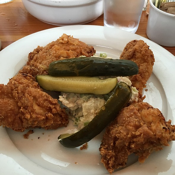 fried chicken - Olivia, Austin, TX