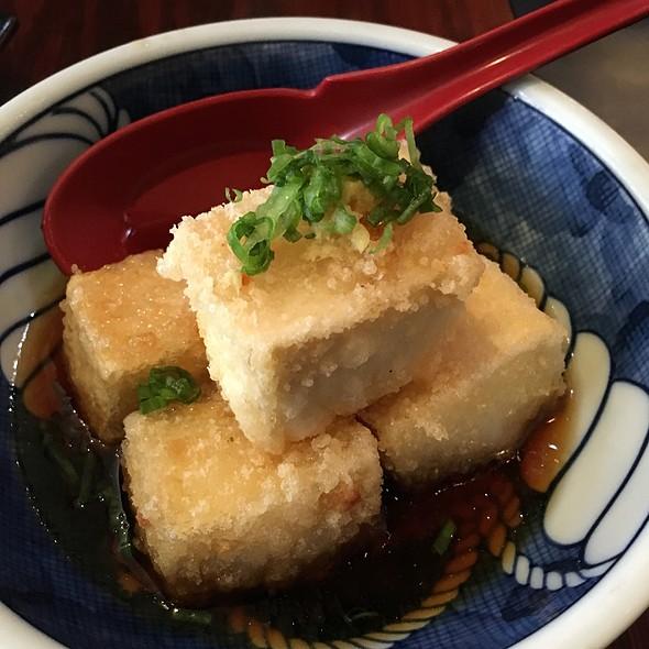 Agadashi Tofu - YamaSho, San Francisco, CA