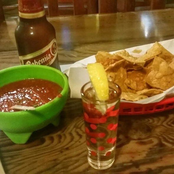 Tequila, Beer, Chips And Salsa