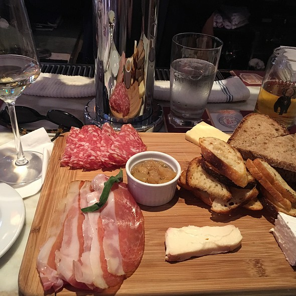 Cheese & Meat Plate @ Bin 71