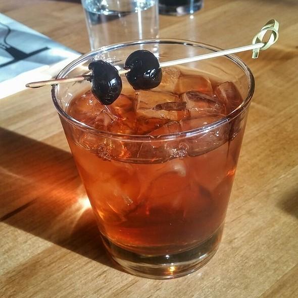 Alice's Manhattan Cocktail @ Tinderbox Kitchen
