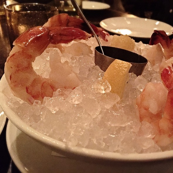 Jumbo shrimp cocktail - Bourbon Steak by Michael Mina - Miami, Aventura, FL