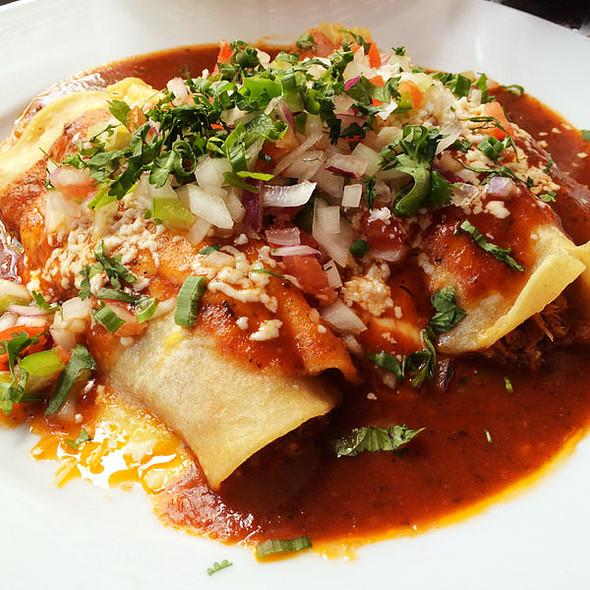 Combination Enchilada - Mayas, New Orleans, LA