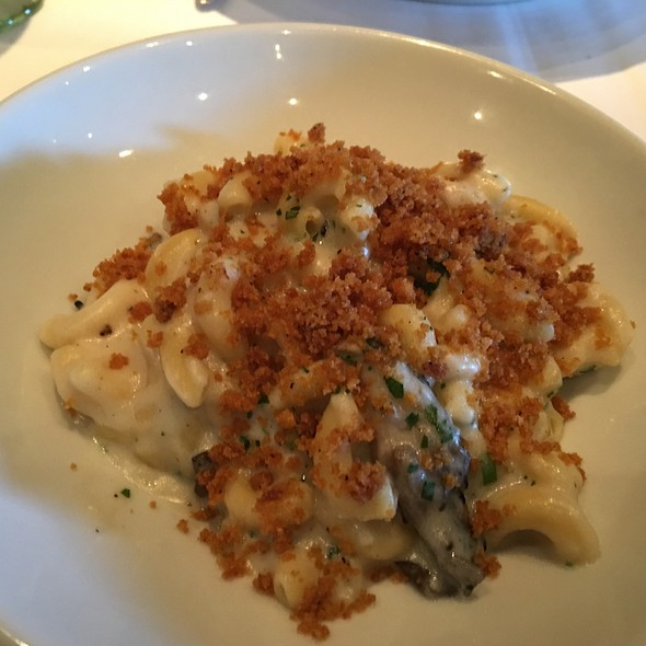 Truffled Macaroni and Cheese @ Fin Seafood Restaurant