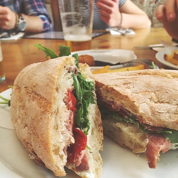 Roast Beef Sandwich @ Cafe Godot
