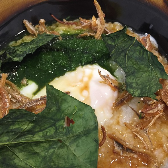 Ikan Bilis Congee @ Li