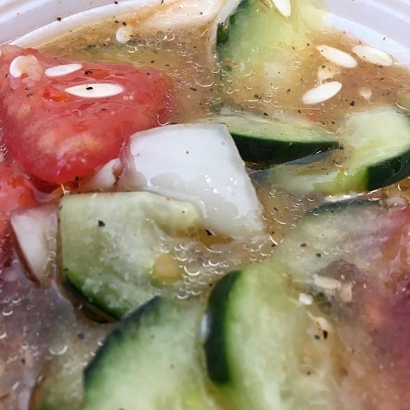 Cucumber Salad @ The Sausage Shoppe