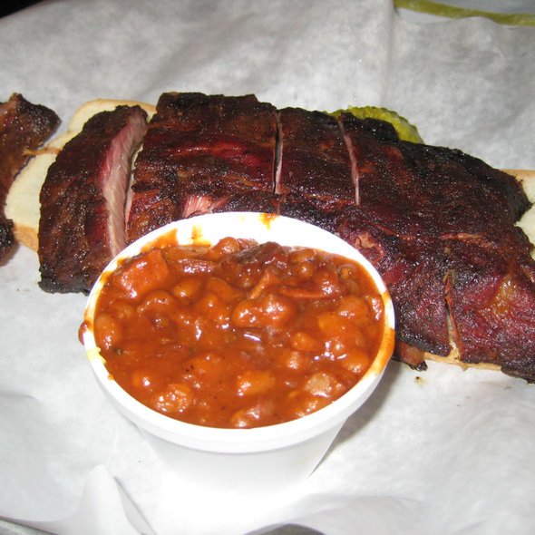 Baby Back Ribs @ Rub BBQ Restaurant