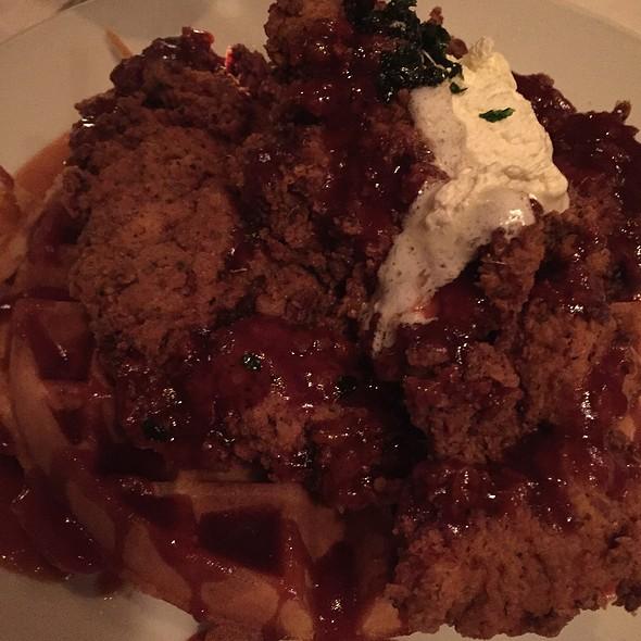 Chicken & Waffles - Back Bay Social Club, Boston, MA