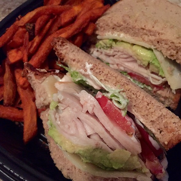 Roasted Turkey And Swiss Sandwich @ Cafe Express