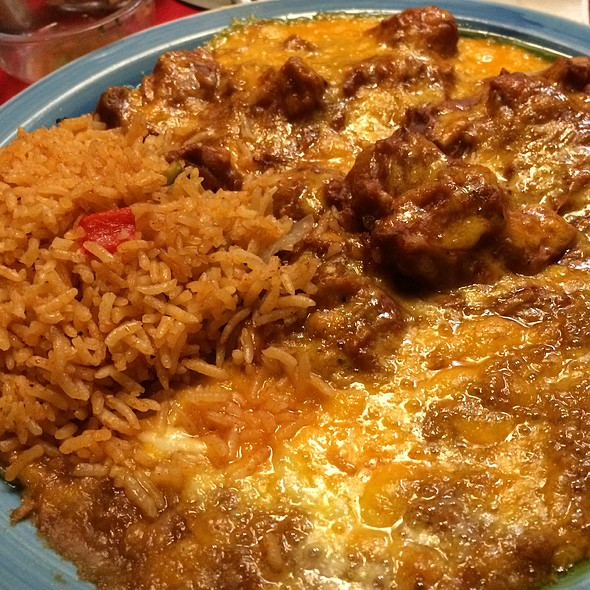 Enchilada Howard @ El Coyote Cafe