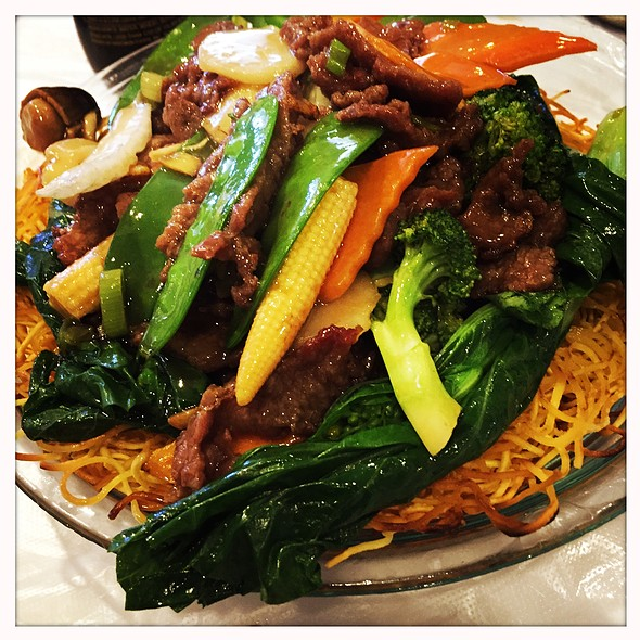 Pan-Fried Noodles @ China Chef Restaurant