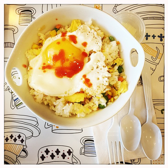 Fried Rice with Fried Egg @ BB bakery