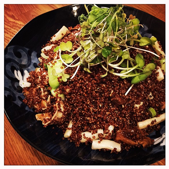 Red Quinoa Pilaf @ Rabbit House