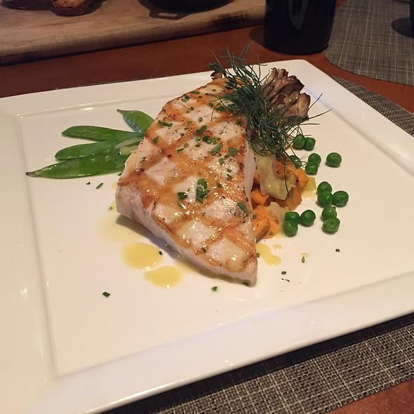 Grilled Swordfish - Trattoria del Porto at Loews Portofino Bay Hotel, Orlando, FL
