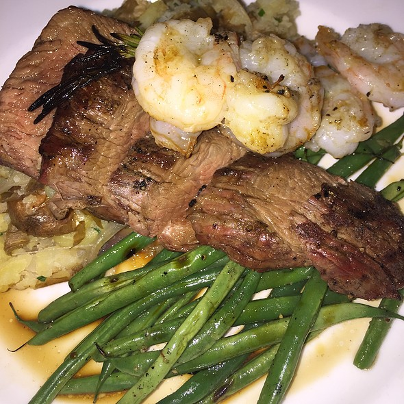 Surf And Turf - BLU Restaurant & Bar, Folly Beach, SC
