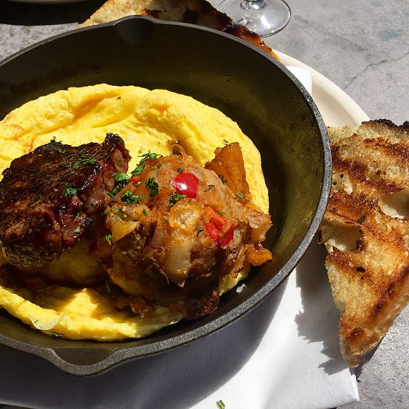 Cast Iron Steak And Eggs @ Matchbox Restaurant
