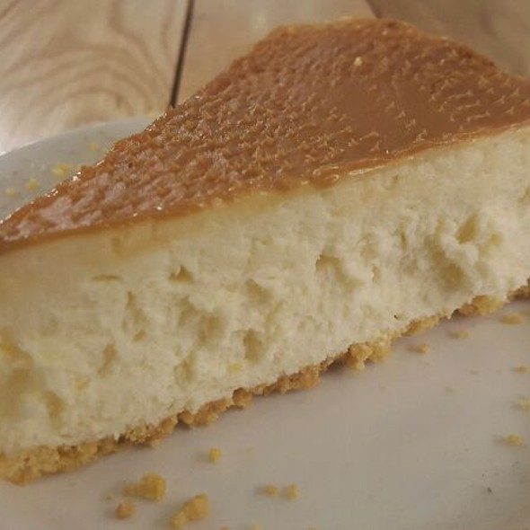 Caramel Cheesecake @ Diner Jhb Airport