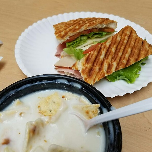 Italiano Panini And Clam Chowder - Cafe Du Parc, Washington, DC