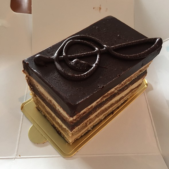 Opera Cake @ La Panaderia