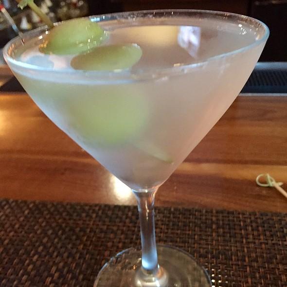 Hendrick's Martini With Blue Cheese Stuffed Olives - BLT Steak Atlanta, Atlanta, GA