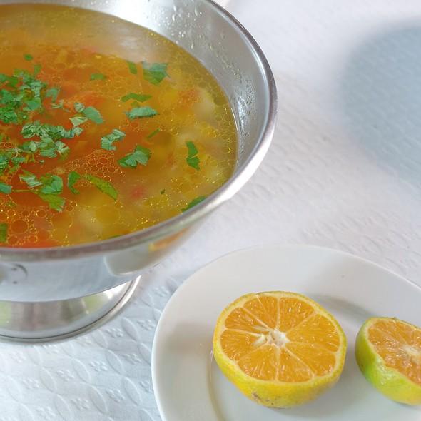 Fish Soup @ Restaurante Cantinho Do Cais