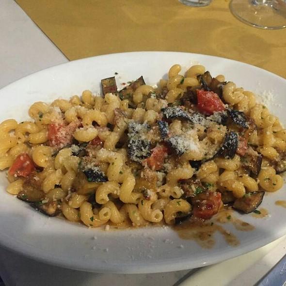 Riccioli Eggplant Tomatoes And Ricotta Cheese @ Cantina Simonetti