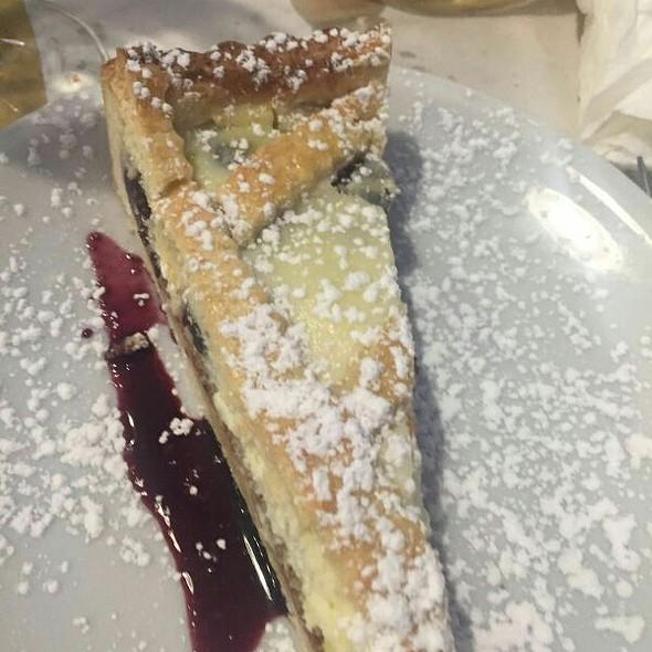 Ricotta And Cherries Jam Cake @ Cantina Simonetti