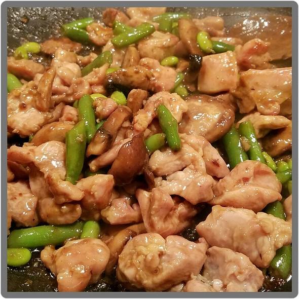 Shiitake Mushroom Chicken