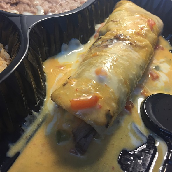 Smoked Brisket Burrito @ Casa Rita's Mexican Grill
