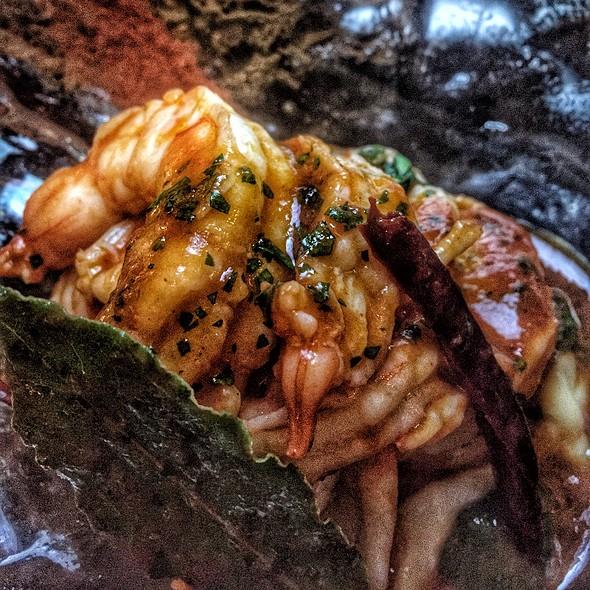 Sauteed Shrimp @ The Bazaar by José Andrés