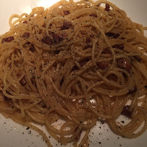 Cacio & Pepe With Black Truffle - Sotto Sotto, Atlanta, GA