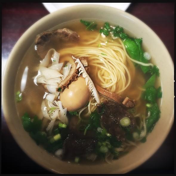House Special Noodle Soup @ Shan Shan Noodles
