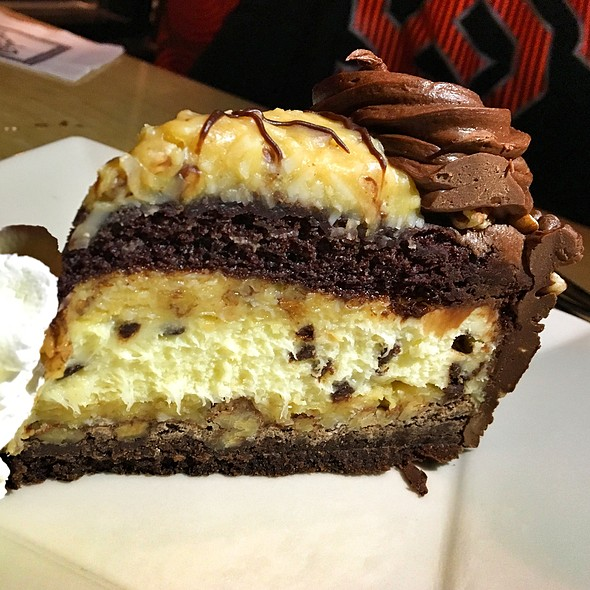 Chris's Outrageous Coconut Chocolate Cheesecake @ The Cheesecake Factory
