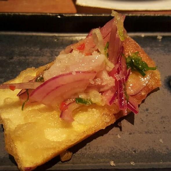 Ceviche Robalo batata Doce @ Huto Izakaya