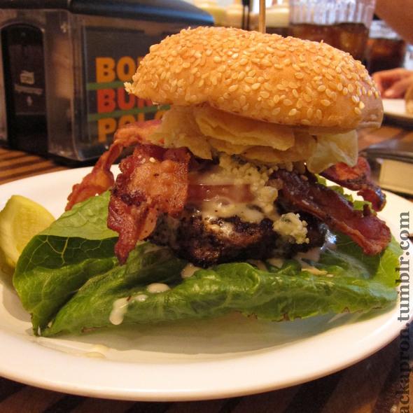 Bobby Blue Burger @ Bobby's Burger Palace