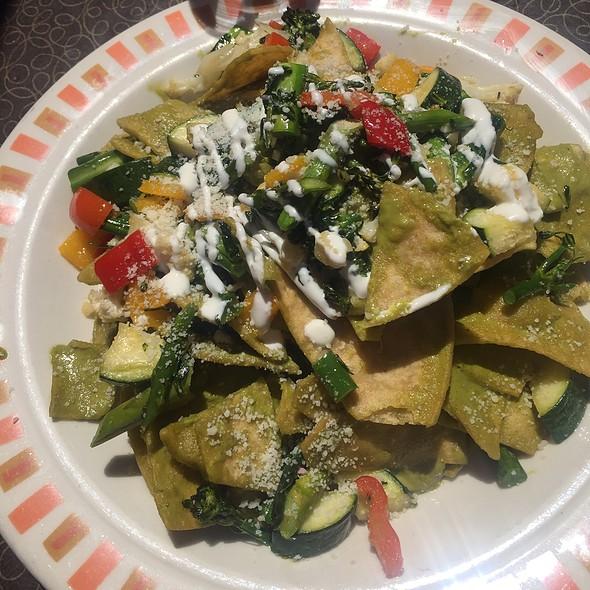 Chilaquiles Verdes W/Vegetables - Border Grill - Downtown LA, Los Angeles, CA