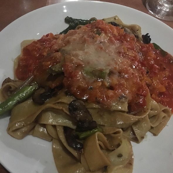 Pappardelle With Vegetable - Bacchus Restaurant and Wine Bar, Rohnert Park, CA